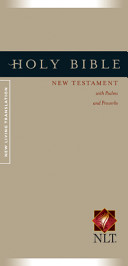 Holy Bible   New Testament with Psalms and Proverbs