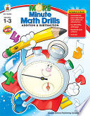 More Minute Math Drills Grades 1 3 book