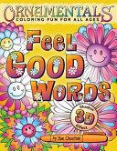 OrnaMENTALs Feel Good Words Coloring Book