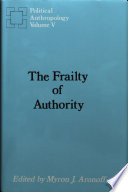The frailty of authority