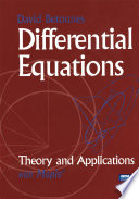 Differential Equations  Theory and Applications