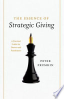 The Essence of Strategic Giving