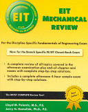 EIT Mechanical Review