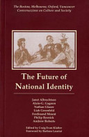 The Future of National Identity