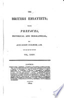 The British Essayists With Prefaces By A Chalmers