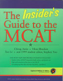 The Insider s Guide to the MCAT
