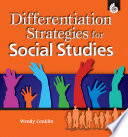 Differentiation Strategies for Social Studies