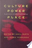 Culture  Power  Place