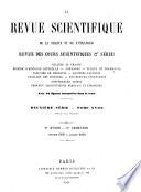 La Revue scientifique de la France et de l   tranger