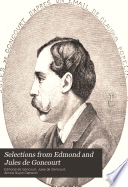 Selections from Edmond and Jules de Goncourt