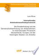 Internationales Arbeitnehmererfinderprivatrecht