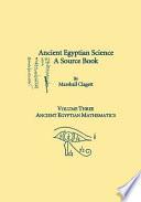 Ancient Egyptian Science  Ancient Egyptian mathematics