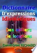 Dictionnaire D'expressions Idiomatiques