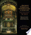 Galatians, Ephesians, Philippians : & francis, an informa company....