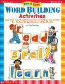 Fun   Easy Word Building Activities
