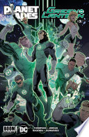Planet of the Apes Green Lantern  3