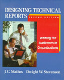 Designing Technical Reports book