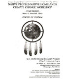 Native Peoples Native Homelands Climate Change Workshop