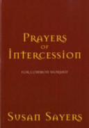 Prayers of Intercession for Common Worship