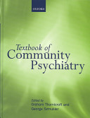 Textbook of Community Psychiatry