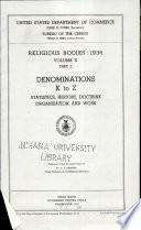 Religious Bodies, 1936