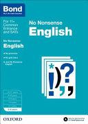 Bond: English: No Nonsense