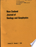 New Zealand Journal Of Geology And Geophysics