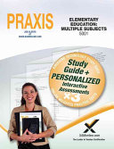 Praxis Elementary Education  Multiple Subjects 5001 Book and Online