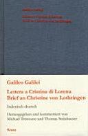 Lettera a Cristina di Lorena