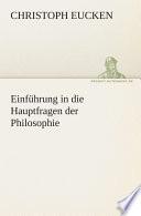 Einf  hrung in die Hauptfragen der Philosophie