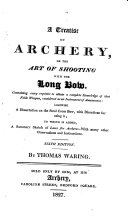 A treatise on archery