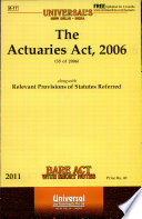 The Actuaries Act 2006