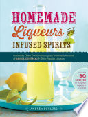 Homemade Liqueurs and Infused Spirits