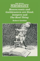 Rosencrantz and Guildenstern Are Dead  Jumpers and the Real Thing