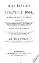 Miss Leslie s Behaviour Book