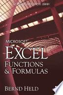 Microsoft Excel Functions & Formulas