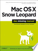 Mac OS X Snow Leopard  Das Missing Manual