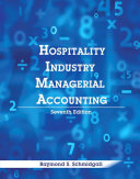 Hospitality Industry Managerial Accounting  AHLEI