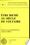 Ebook Etre riche au siècle de Voltaire Epub Michel Porret Apps Read Mobile