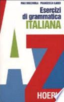 Esercizi di grammatica italiana