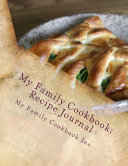 My Family Cookbook Recipe Journal