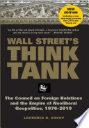 Wall Street s Think Tank