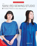 Nani Iro's Sewing Studio : patterns is finally available in english!...
