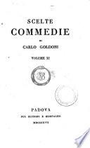 Scelte commedie di Carlo Goldoni