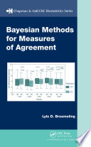 Bayesian Methods For Measures Of Agreement book