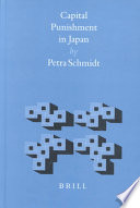 Capital Punishment in Japan Japan In A Legal Historical Social Cultural