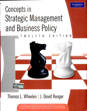 Concepts in Strategic Management and Business Policy - ISBN:9788131729717