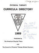 Physical therapy curricula directory