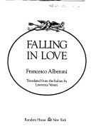 Falling In Love : stages, and discusses how love dies when it...