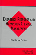 Emergency Response and Hazardous Chemical Management